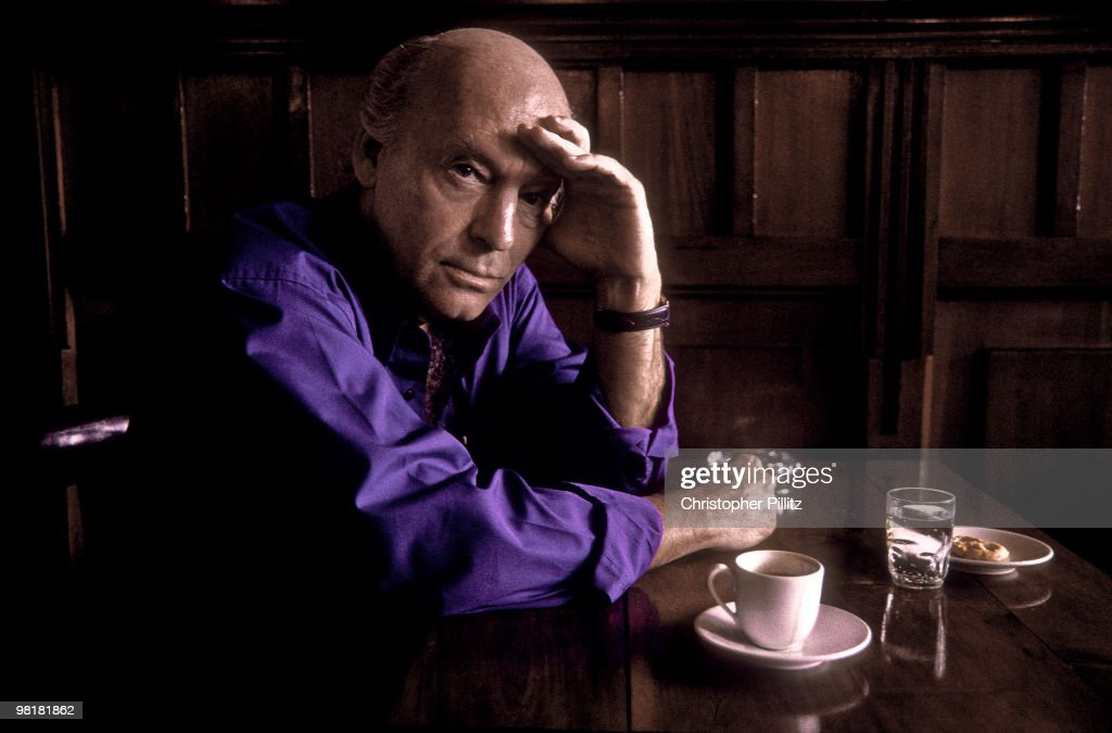 Uruguayan journalist, writer and novelist <a gi-track='captionPersonalityLinkClicked' href=/galleries/search?phrase=Eduardo+Galeano&family=editorial&specificpeople=2578757 ng-click='$event.stopPropagation()'>Eduardo Galeano</a> in a Montevideo cafe, Uruguay, 29th March 2002.