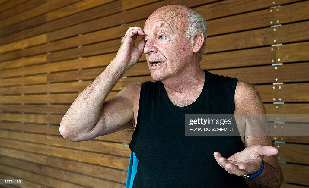 Uruguayan writer <a gi-track='captionPersonalityLinkClicked' href=/galleries/search?phrase=Eduardo+Galeano&family=editorial&specificpeople=2578757 ng-click='$event.stopPropagation()'>Eduardo Galeano</a> speaks during an interview with the AFP at the Sheraton Hotel in Mexico City, on April 3, 2009. Galeano is in Mexico for the release of his new book called 'Dreams'. AFP PHOTO/Ronaldo Schemidt