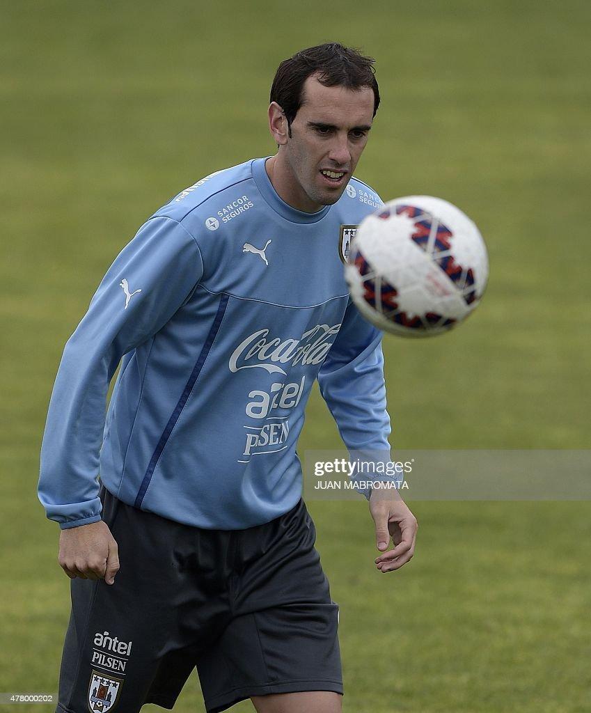 Uruguay Defender Diego Godin Stock s and
