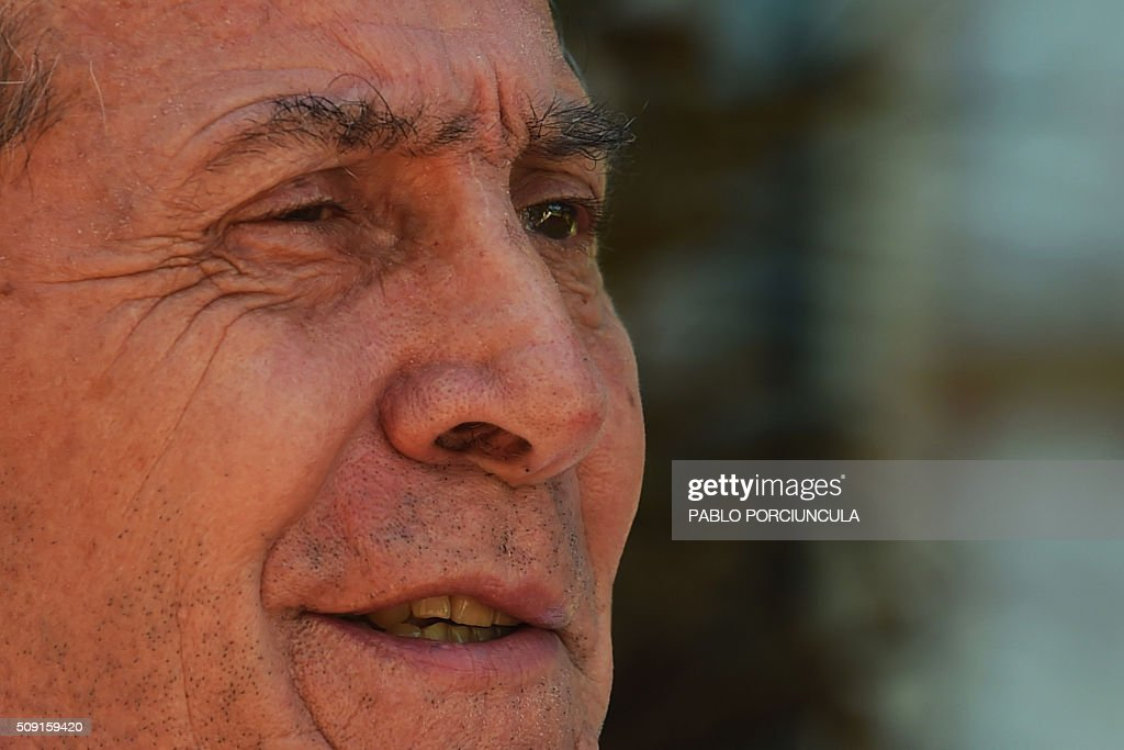 Uruguay's national football team coach Oscar Washington Tabarez is interviewed by AFP at the Celeste Sports Complex in Canelones, 27 km from Montevideo, on February 9, 2016. AFP PHOTO / PABLO PORCIUNCULA / AFP / PABLO PORCIUNCULA