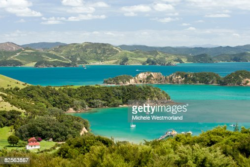 Urupukapuka Island, Bay of Islands, New Zealand : Stock Photo