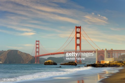 Usa, San Francisco, Golden Gate Bridge : Stock Photo