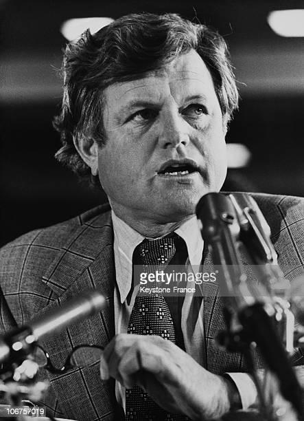 Usa Senator Ted Kennedy