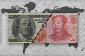 economic war concepts between usa and china