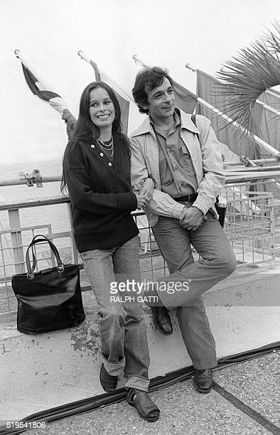 USactress Geraldine Chaplin daughter of famous film director and actor Charlie Chaplin is pictured 30 May 1978 during the Cannes Film Festival with...