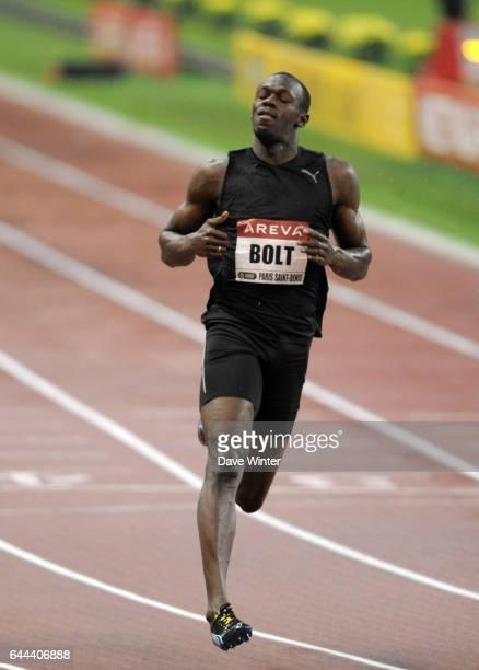 Usain BOLT 100m Golden League Meeting Areva 2009 Stade de France Paris Photo Dave Winter/Icon Sport