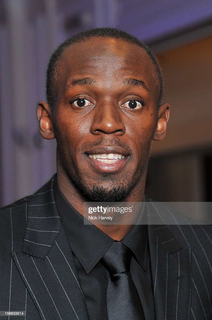 <a gi-track='captionPersonalityLinkClicked' href=/galleries/search?phrase=Usain+Bolt&family=editorial&specificpeople=604196 ng-click='$event.stopPropagation()'>Usain Bolt</a> attends the Zeitz Foundation and ZSL gala at London Zoo on November 22, 2012 in London, England.