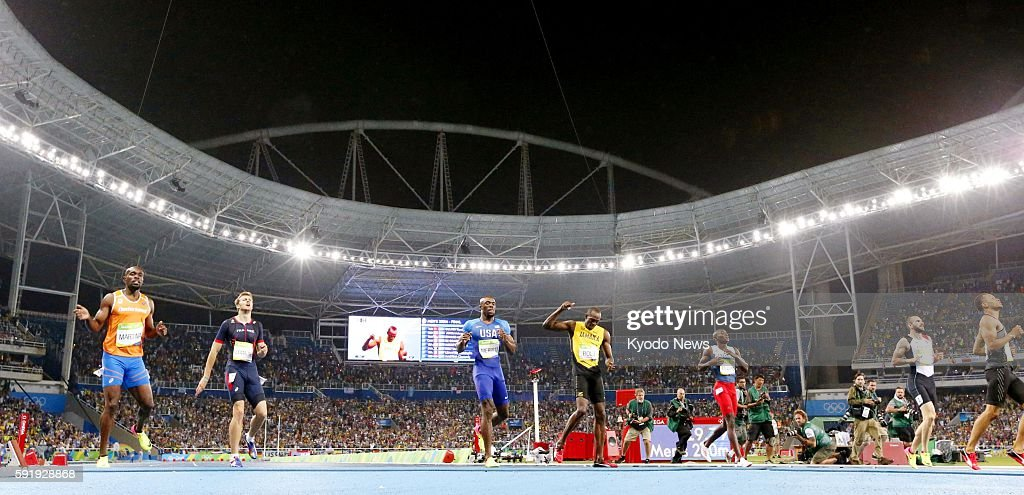 Usain Bolt of Jamaica wins the men's 200meter gold medal at the Rio de Janeiro Olympics on Aug 18 2016 Bolt completed his third consecutive Olympic...