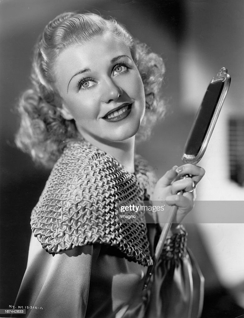 US-american actress and dancer Ginger Rogers. About 1935. Photograph. (Photo by Imagno/Getty Images) Die US-amerikanische Schauspielerin und Tänzerin Ginger Rogers. Um 1935. Photographie.