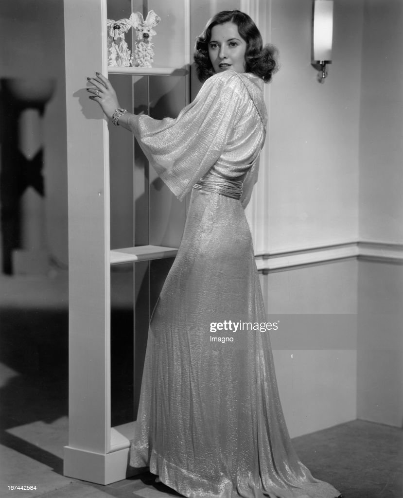 US-american actress Barbara Stanwyck. About 1935. Photograph. (Photo by Imagno/Getty Images) Die US-amerikanische Schauspielerin Barbara Stanwyck. Um 1935. Photographie.
