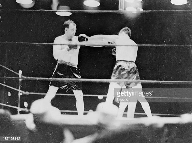 USAmerican boxer and world heavyweight champion of 19321933 Jack Sharkey when he won on points over the German heavyweight boxer and 1930 to 1932...