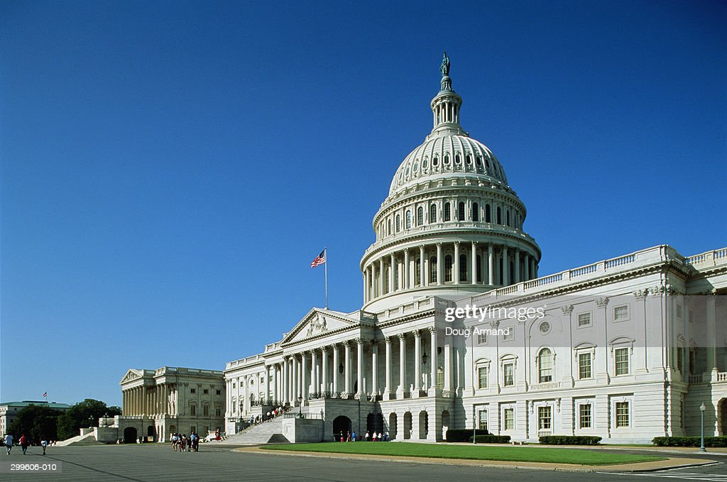 USA,Washington DC,Capitol Building, : Stock Photo