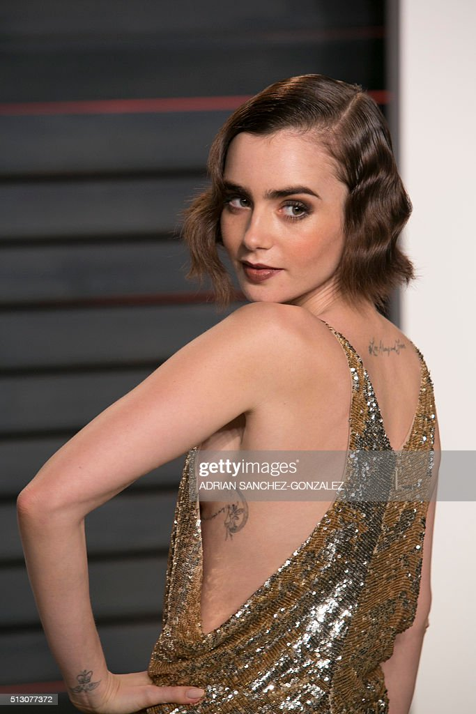Lily Collins   Getty I...