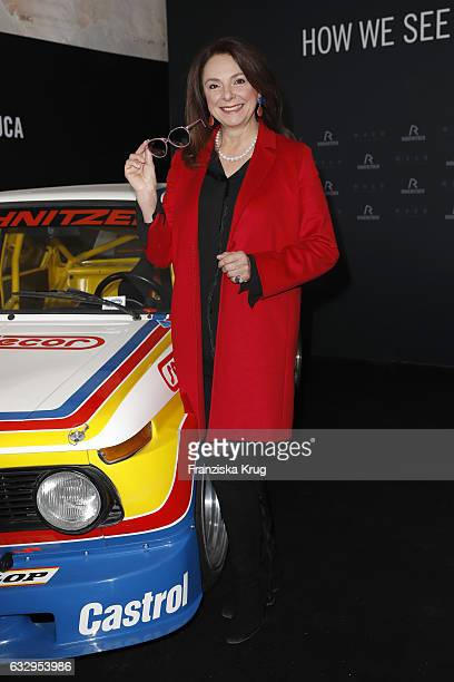 Uschi Daemmrich von Luttitz attends the Rodenstock Exhibition Opening Event at Museum of Urban and Contemporary Art in Munich on January 28 2017 in...