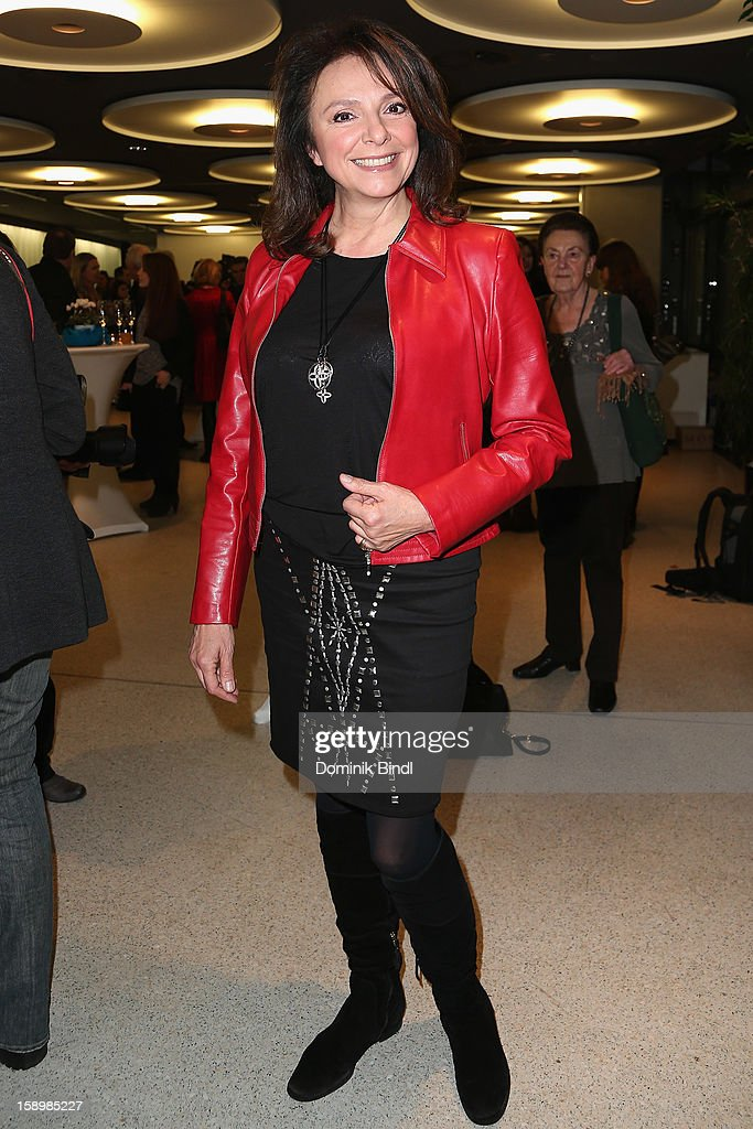 Uschi Daemmrich von Luttitz attends the show 10 years of Appassionata - Friends Forever on January 4, 2013 in Munich, Germany.