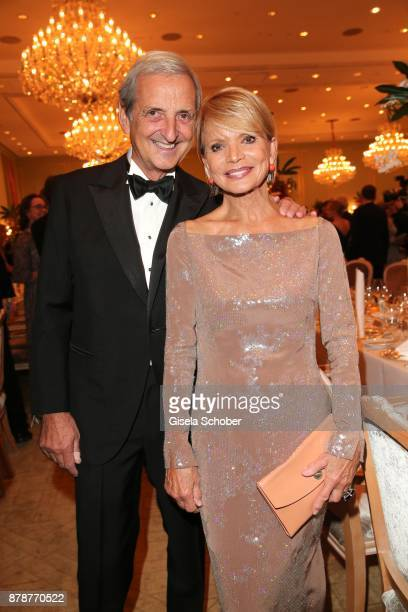 Uschi Glas and her husband Dieter Hermann during the 66th 'Bundespresseball' at Hotel Adlon on November 24 2017 in Berlin Germany