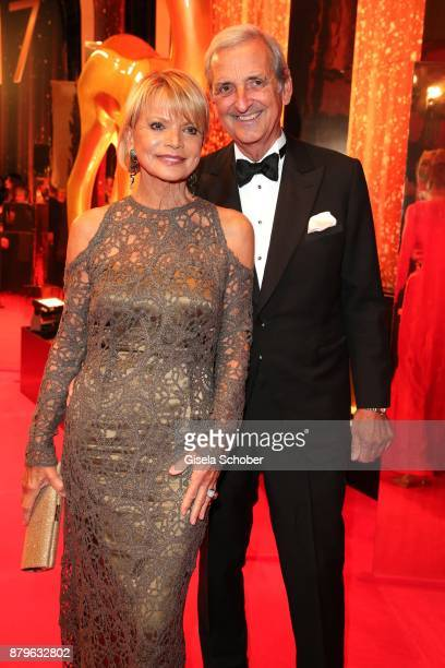 Uschi Glas and her husband Dieter Hermann during the Bambi Awards 2017 at Stage Theater on November 16 2017 in Berlin Germany