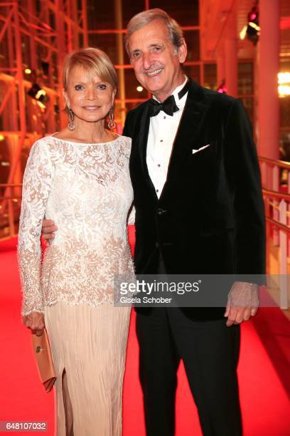 Uschi Glas and her husband Dieter Hermann during the Goldene Kamera reception at Messe Hamburg on March 4 2017 in Hamburg Germany