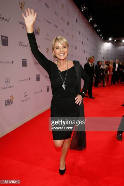 Uschi Glas arrives at Tribute To Bambi at Station on October 17 2013 in Berlin Germany