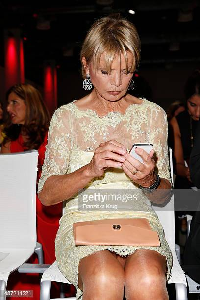 Uschi Glas attends the 9th Victress Awards Gala at andels Hotel Berlin on April 28 2014 in Berlin Germany