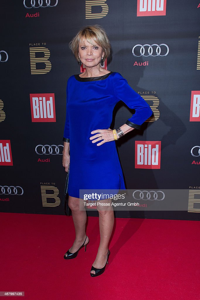 <a gi-track='captionPersonalityLinkClicked' href=/galleries/search?phrase=Uschi+Glas&family=editorial&specificpeople=213394 ng-click='$event.stopPropagation()'>Uschi Glas</a> attends the BILD 'Place to B' Party at Grill Royal on February 8, 2014 in Berlin, Germany.