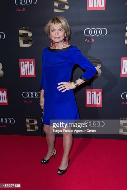 Uschi Glas attends the BILD 'Place to B' Party at Grill Royal on February 8 2014 in Berlin Germany