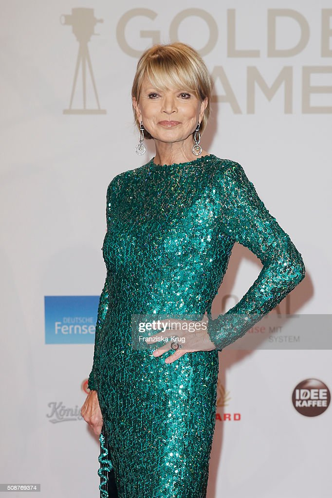 <a gi-track='captionPersonalityLinkClicked' href=/galleries/search?phrase=Uschi+Glas&family=editorial&specificpeople=213394 ng-click='$event.stopPropagation()'>Uschi Glas</a> attends the Goldene Kamera 2016 on February 6, 2016 in Hamburg, Germany.