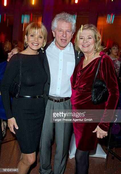 Uschi Glas Miroslav Nemec and Jutta Speidel attend the ARD Blue Hour Reception at the 'Museum fuer Kommunikation' during the 63rd Berlinale...