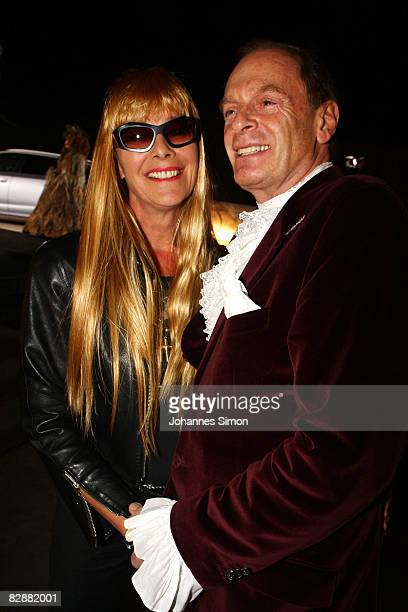 Uschi von Hohenlohe and Wolfgang Bierlein attend the 'Fabulous Celebration' at Nymphenburg Castle on September 18 2008 in Munich Germany French...