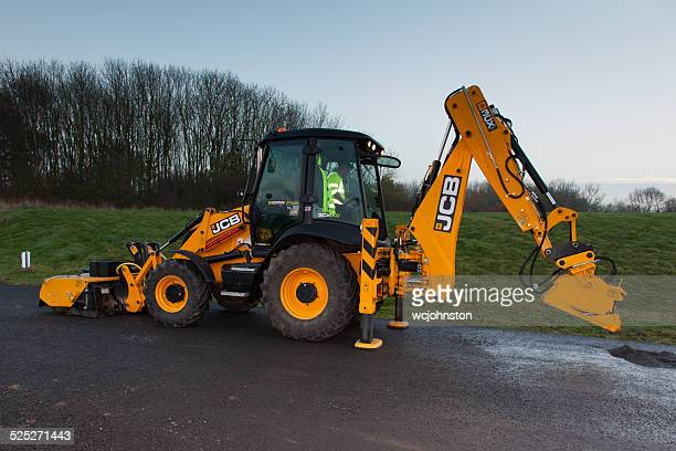JCB Used For Road Surfacing & Planing