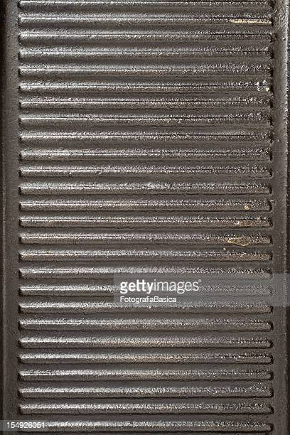 Used iron grill background