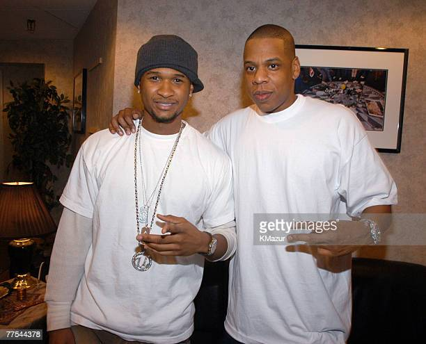 Usher and JayZ