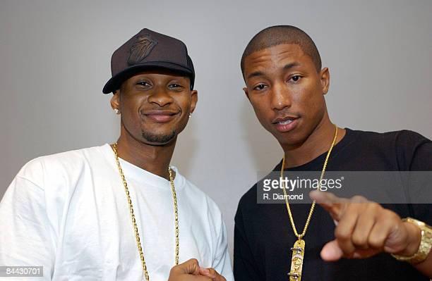 Usher and Pharrnell Williams of NERD