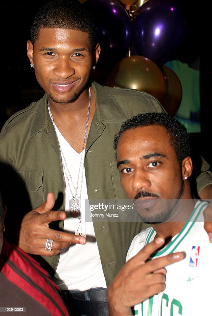 Usher 2003 Akil Rucker's Birthday...