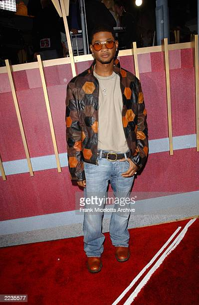 Usher arrive for the 2002 MTV Video Music Awards at Radio City Music Hall in New York City August 29 2002 Photo by Frank Micelotta/ImageDirect