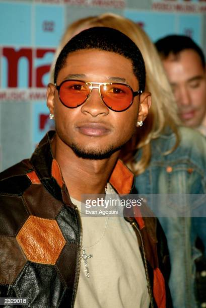 Usher arrives at the 2002 MTV Video Music Awards at Radio City Music Hall in New York City August 29 2002 Photo by Evan Agostini/ImageDirect