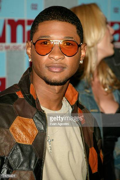 Usher arrives at the 2002 MYV Video Music Awards at Radio City Music Hall in New York City August 29 2002 Photo by Evan Agostini/ImageDirect