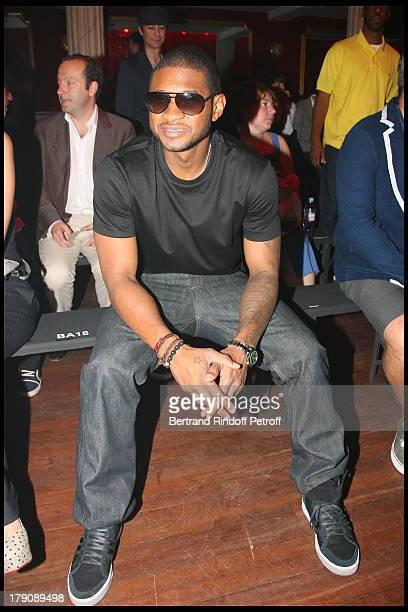 Usher at Lanvin Men's Fashion Show Summer 2010