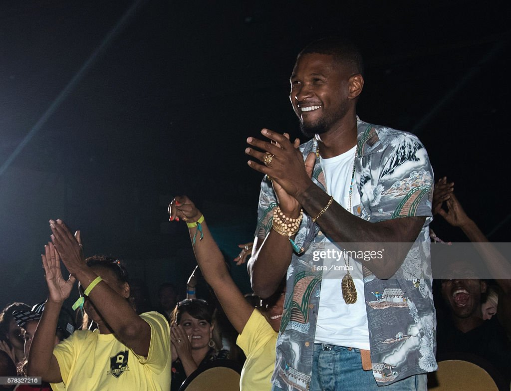 Usher attends the 2nd Annual BuildaBEAST Experience at Sheraton Fairplex Hotel Conference Center on July 20 2016 in Pomona California