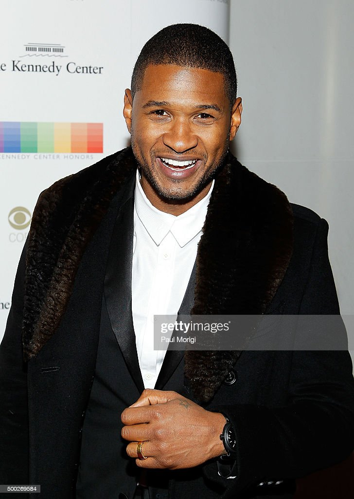 Usher attends the 38th Annual Kennedy Center Honors Gala at John F. Kennedy Center for the Performing Arts on December 6, 2015 in Washington, DC.