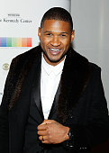 Usher attends the 38th Annual Kennedy Center Honors Gala at John F Kennedy Center for the Performing Arts on December 6 2015 in Washington DC