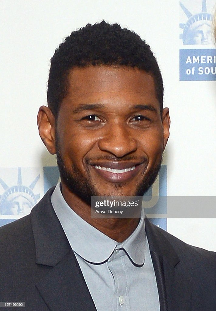 Usher attends the ACLU of Southern California's 2012 Bill of Rights Dinner at the Beverly Wilshire Four Seasons Hotel on December 3, 2012 in Beverly Hills, California.