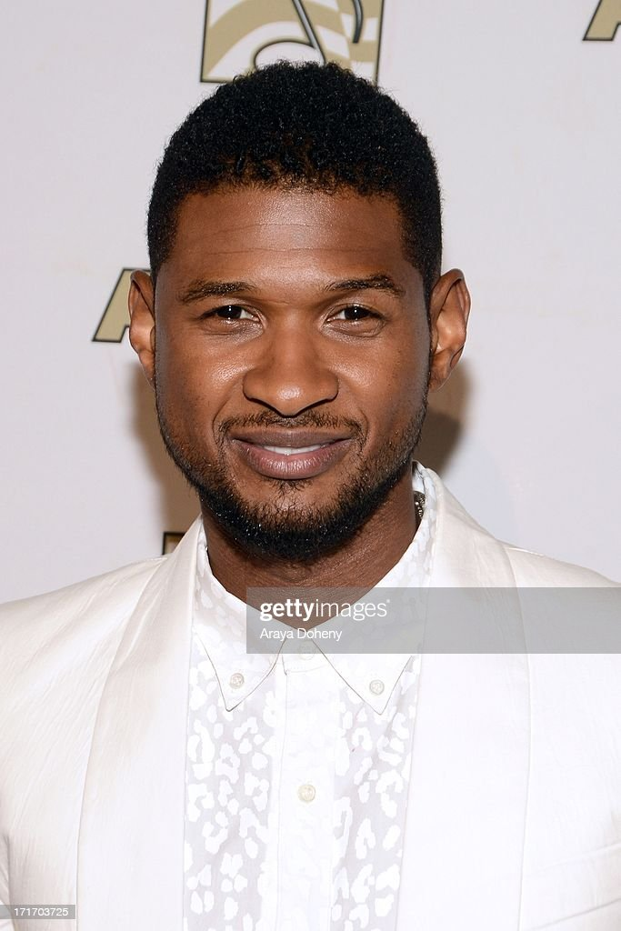 Usher attends The American Society of Composers, Authors and Publishers (ASCAP) 26th Annual Rhythm & Soul Music Awards at The Beverly Hilton Hotel on June 27, 2013 in Beverly Hills, California.