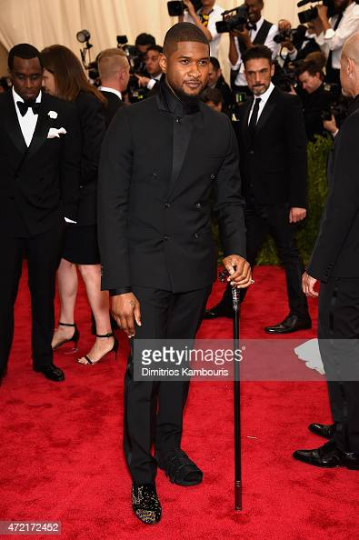 Usher attends the 'China Through The Looking Glass' Costume Institute Benefit Gala at the Metropolitan Museum of Art on May 4 2015 in New York City