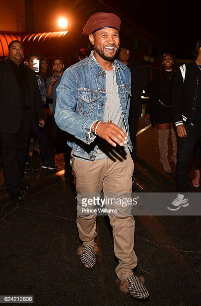 Usher attends the Commission Weekend Kickoff at Josephine Lounge on November 18 2016 in Atlanta Georgia