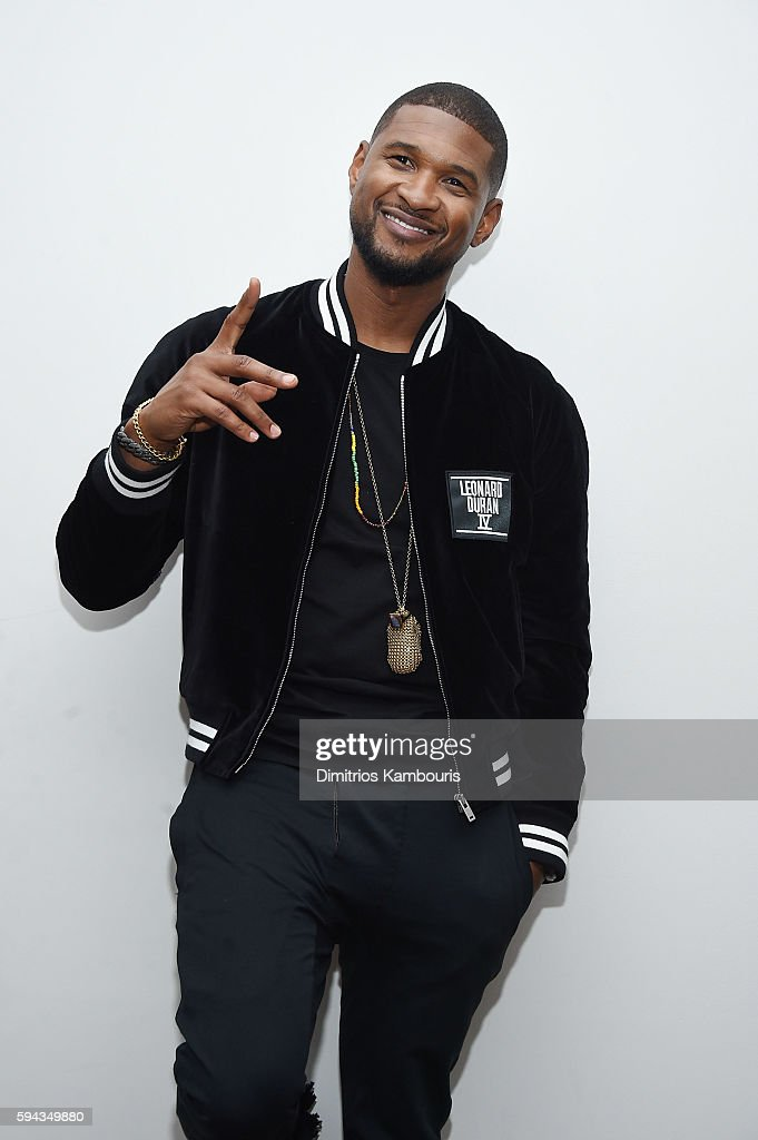 Usher attends the 'Hands Of Stone' U.S. premiere after party at The Redbury New York on August 22, 2016 in New York City.