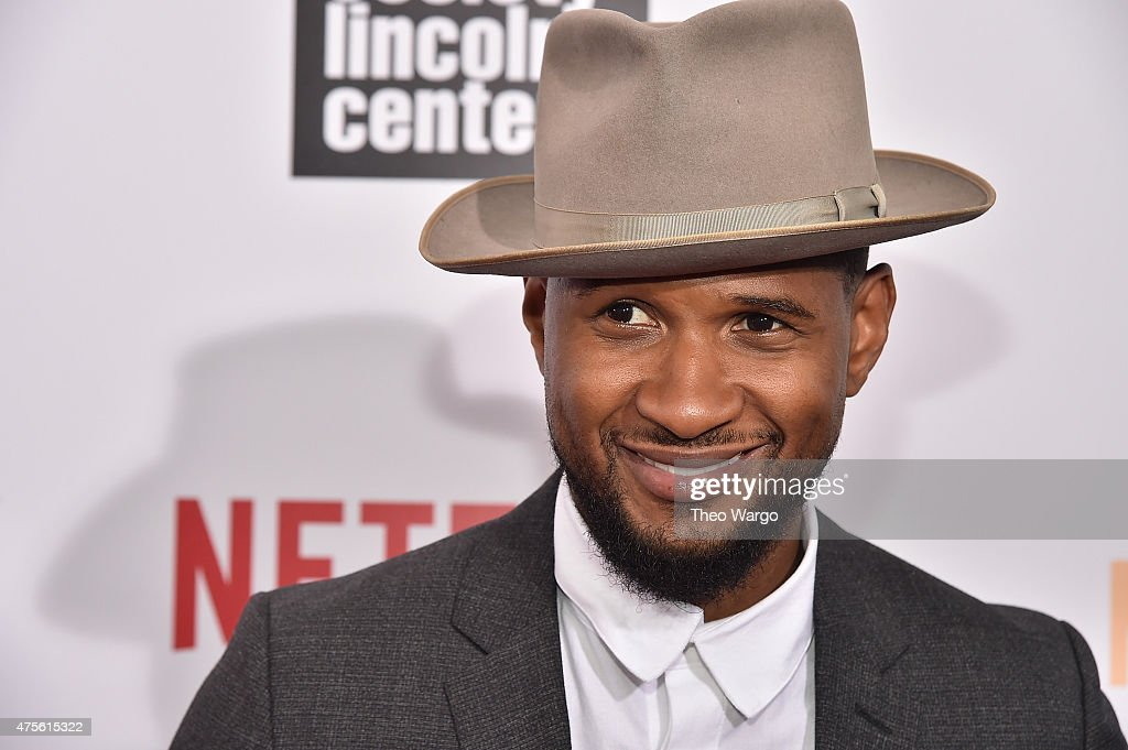 Usher attends 'What Happened Miss Simone' New York Premiere at The Apollo Theater on June 1 2015 in New York City