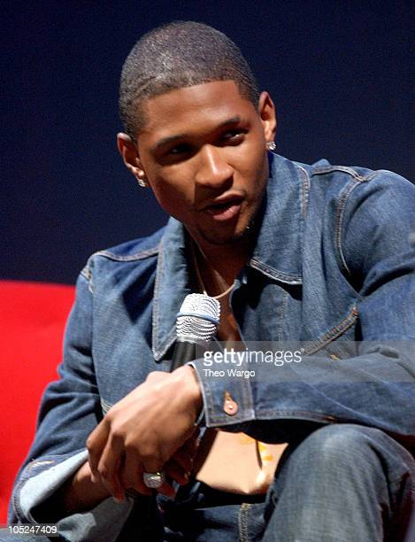 Usher during 'Arista Reloaded' at the 2003 BMG US Label Presentations in New York City United States