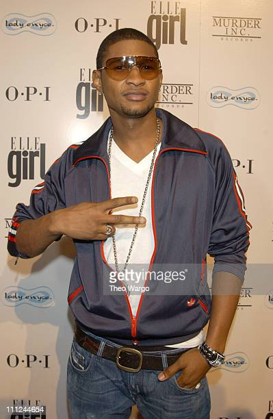 Usher during Ashanti's Exclusive CD Release Party Celebrating the Launch of 'Chapter 2' at The LighthouseChelsea Piers in New York City New York...