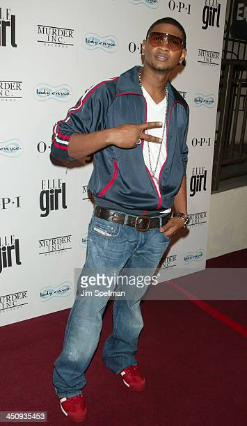 Usher during Ashanti's Exclusive CD Release Party Celebrating the Launch of Chapter 2 at The LighthouseChelsea Piers in New York City New York United...